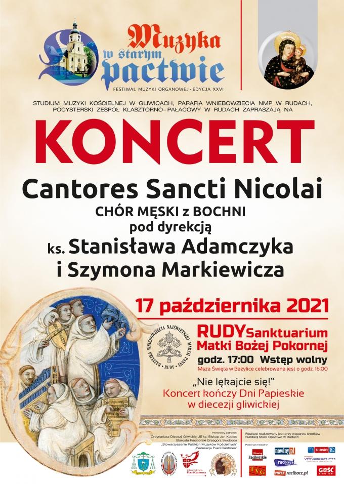 Męski chór z Bochni wystąpi na finał festiwalu